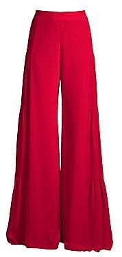Alexis Women's Talley Silk Flare Pants