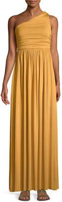 Rachel Pally Kaitlynn One-Shoulder Long Dress