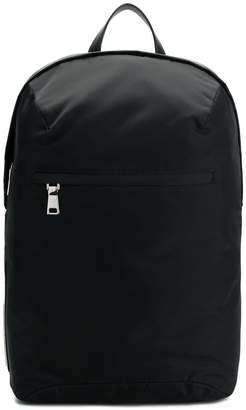 Prada top-zipped nylon backpack