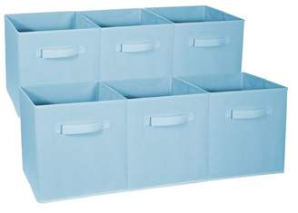 Rebrilliant Foldable Storage Cube Basket Fabric Bin