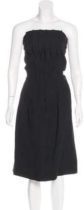 Marni Virgin Wool Knee-Length Dress