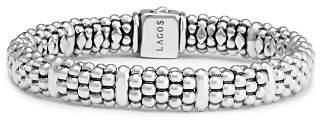 Lagos Sterling Silver Caviar Beaded Rope Bracelet