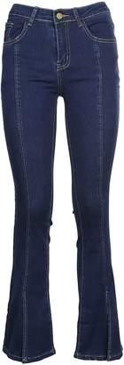 Jovonna Flared Slim Fit Jeans
