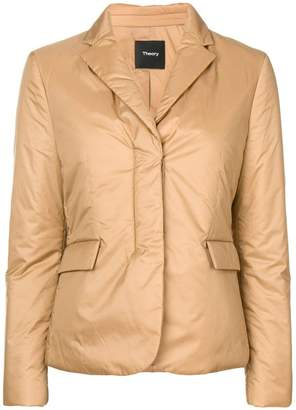 Theory padded fitted jacket