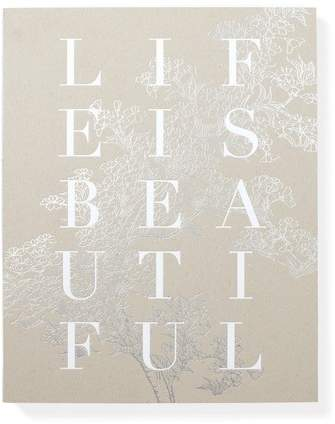 Fringe Studio Life Is Beautiful Notebook