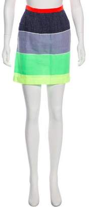 Lemlem Colorblock Mini Skirt