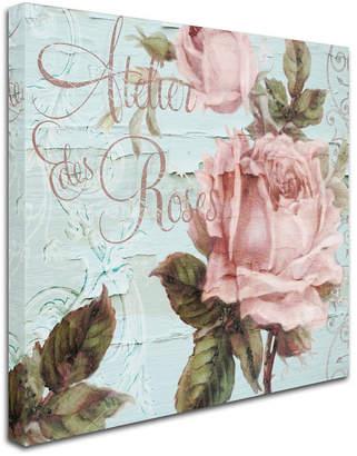 """Atelier (アトリエ) - Color Bakery 'Atelier De Roses' Canvas Art, 2"""" L x 14"""" W x 14"""" H"""