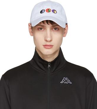 Gosha Rubchinskiy White Yin-Yang Cap $55 thestylecure.com