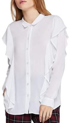 BCBGeneration Ruffled Shirt
