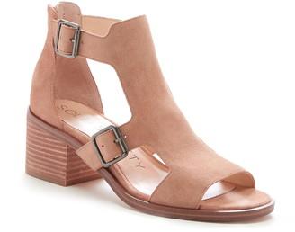 Sole Society Tonni Buckle Shield Sandal