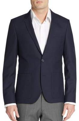 Hugo Boss Alesono Wool-Blend Blazer