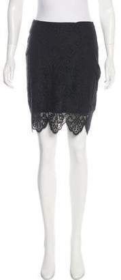 For Love & Lemons Lace Pencil Skirt w/ Tags