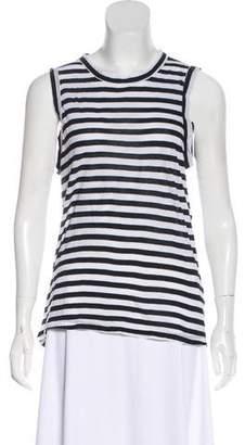 A.L.C. Sleeveless Striped Top