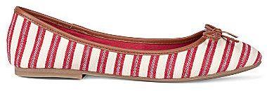 Mia girlTM Blondell Stripe Ballet Flats