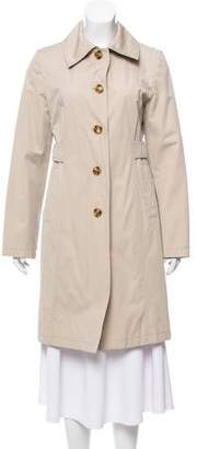 MICHAEL Michael Kors Collard Trench Coat