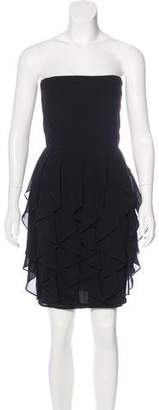 Martin Grant Ruffle-Accented Mini Dress