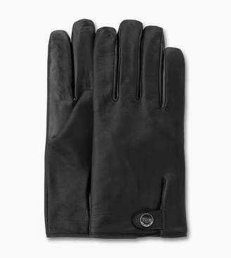 UGG Leather Smart Snap Glove