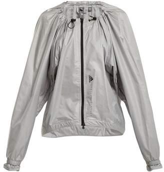 adidas by Stella McCartney Run Adizero Gathered Performance Jacket - Womens - Grey