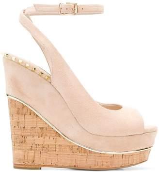 Gianni Renzi open-toe wedge sandals