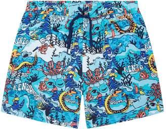 Kenzo Beach Print Shorts