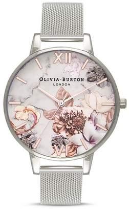 Olivia Burton Marble Florals Watch, 38mm