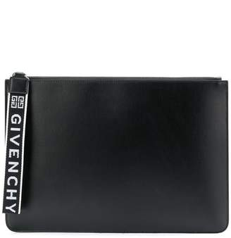 Givenchy large pouch with logo wrist strap