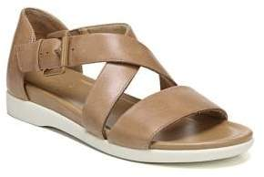Naturalizer Elliot Leather Demi-Wedge Sandals