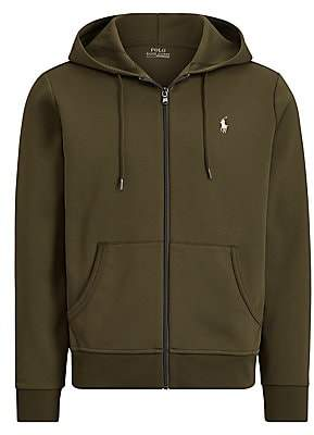 Polo Ralph Lauren Men's Double-Knit Zip-Up Hoodie