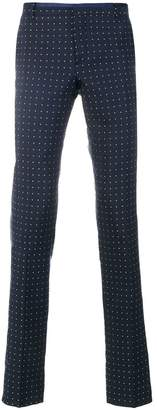 Al Duca D'Aosta 1902 dot effect trousers