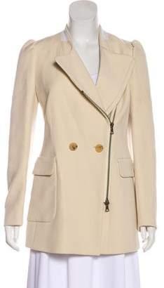 Dries Van Noten Double-Breasted Zip-Up Jacket