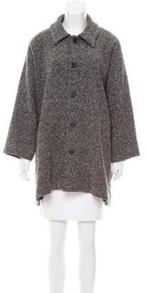 eskandar Tweed Short Coat