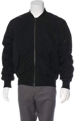 Fear Of God Ruched Silk-Lined Utility Bomber Jacket