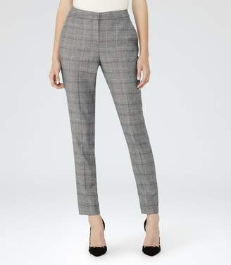 Reiss Musk Trouser Checked Tailored Trousers