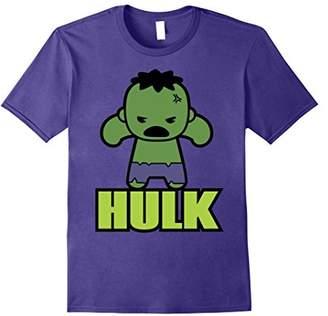 Marvel Hulk The Incredibly Cute Kawaii Pose Graphic T-Shirt