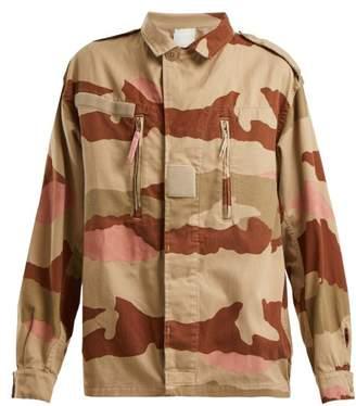 Myar - Camouflage Print Cotton Jacket - Womens - Multi