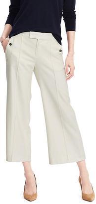 Wide-Leg Crop Pant $98 thestylecure.com