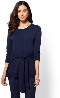 New York & Co. 7th Avenue - Tunic Crewneck Sweater