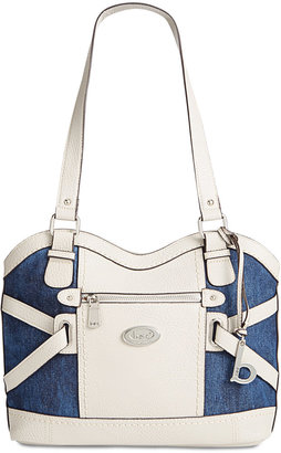 b.o.c. Park Slope Denim Satchel $88 thestylecure.com