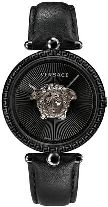 Versace 39mm Palazzo Empire Watch, Black