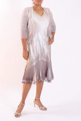 Talk of the Walk Ombre Jacket Dress
