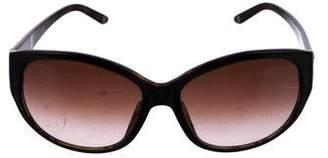 Versace Oversize Cat-Eye Sunglasses