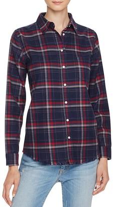 DL1961 Mercer & Spring Plaid Button-Down Shirt - The Blue Shirt Shop $158 thestylecure.com