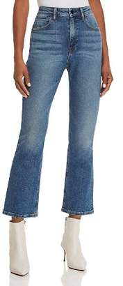 Alexander Wang Cult Crop Straight Jeans in Light Indigo