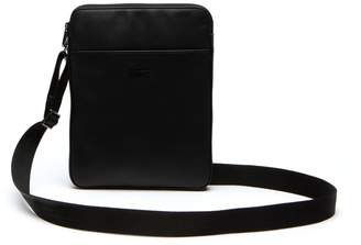 Lacoste Men's Full Ace Leather Flat Bag