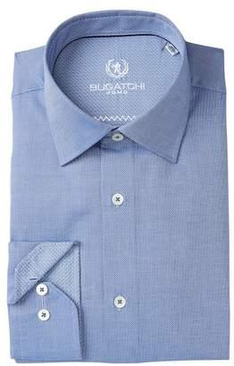 Bugatchi Shaped Fit Dress Shirt