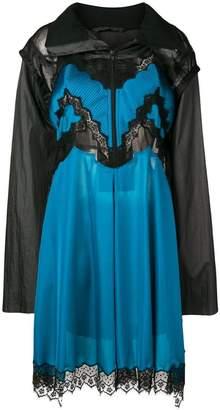 Maison Margiela zipped lingerie dress