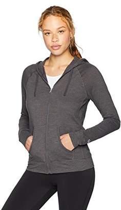 Champion Women's Heathered Jersey Jacket, Granite, M