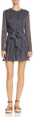 DAY Birger et Mikkelsen The East Order Franca Tie-Front Floral Print Mini Dress