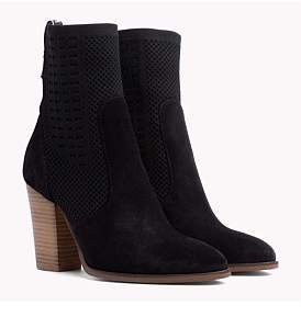 Tommy Hilfiger Tommy Knit Heeled Boot