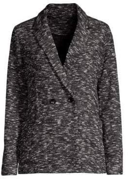 Eileen Fisher Classic Collar Knit Blazer